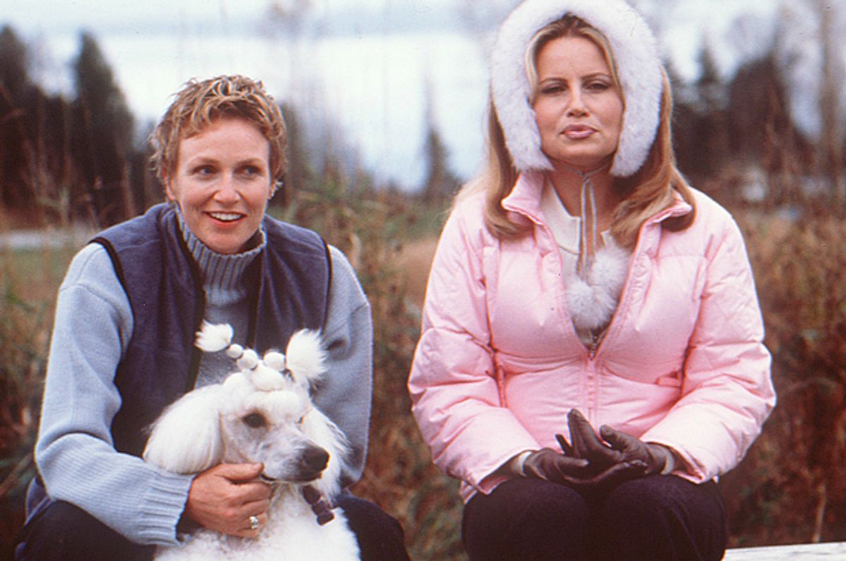 """Jane Lynch and Jennifer Coolidge in """"Best in Show""""     (Castle Rock Entertainment)"""