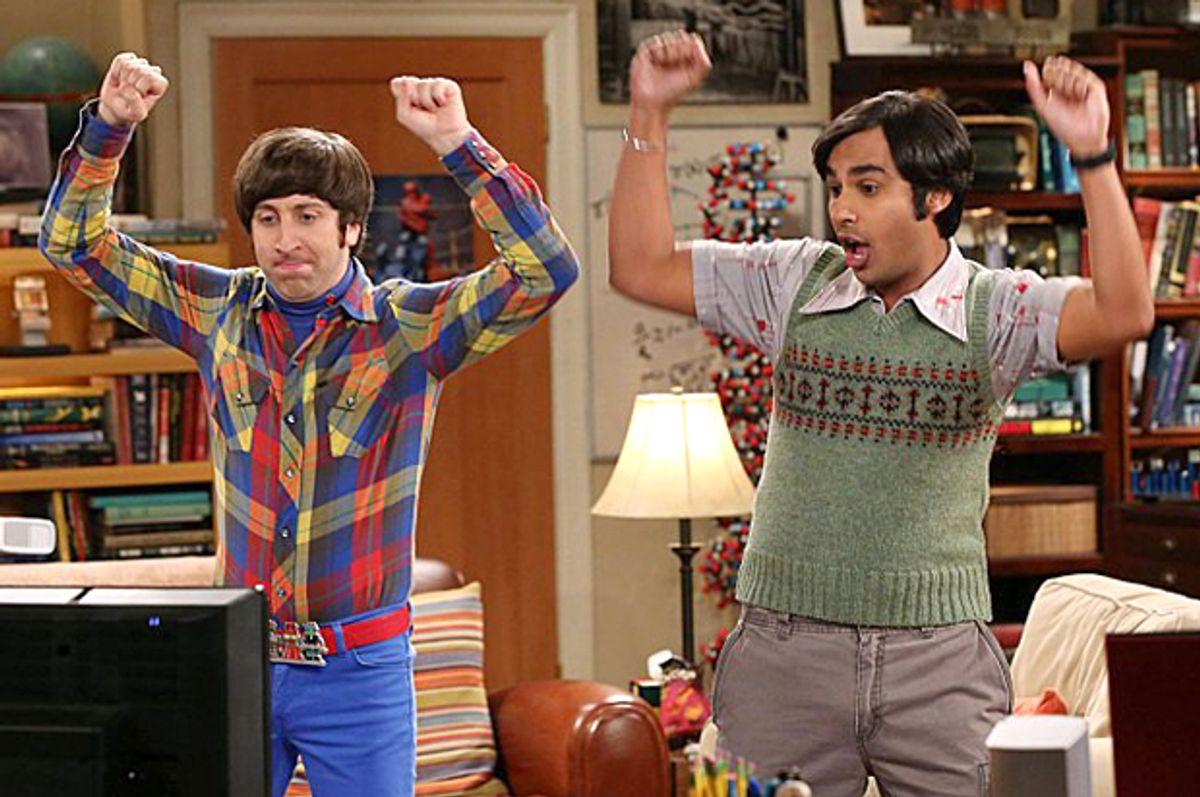 "Simon Helberg and Kunal Nayyar in ""The Big Bang Theory""    (CBS)"