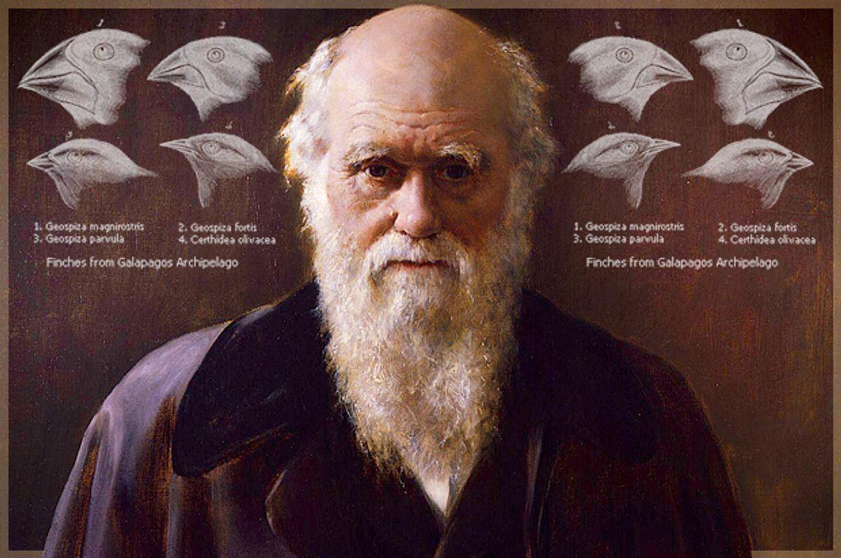 Charles Darwin    (Wikimedia/Salon)