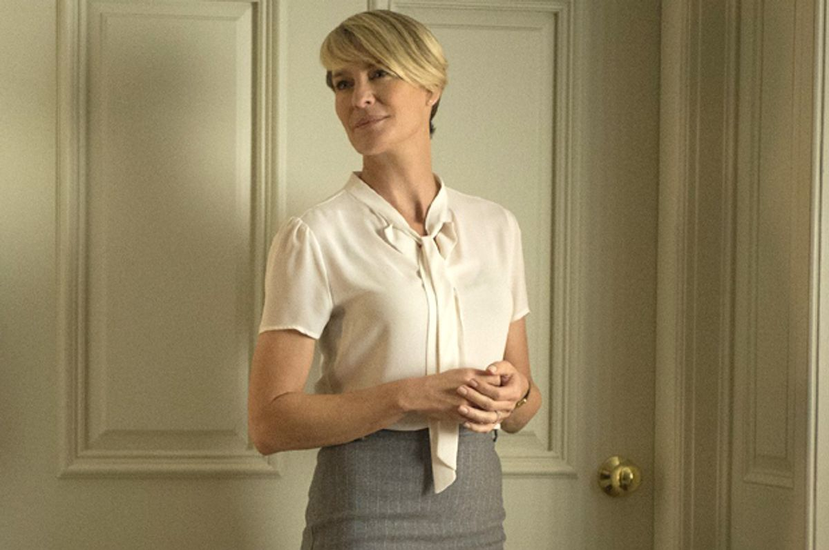 """Robin Wright as Claire Underwood in """"House of Cards""""      (Netflix)"""