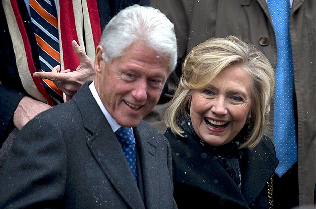 Bill and Hillary Clinton     (Reuters/Carlo Allegri)