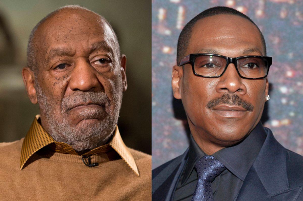 Bill Cosby, Eddie Murphy           (AP/Evan Vucci/Andy Kropa)