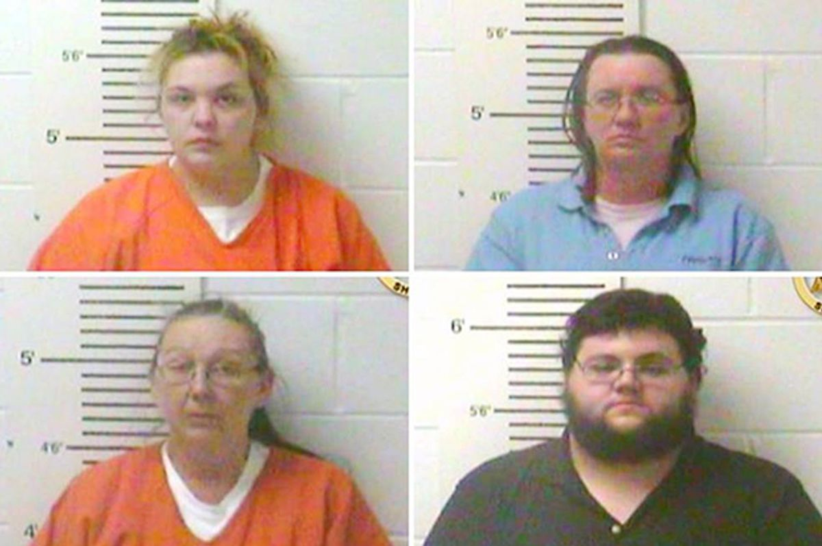 Clockwise from top left: Elizabeth Hupp, Denise Kroutil, Nathan Wynn Firoved, Rose Brewer   (Lincoln County Sheriff's Office)