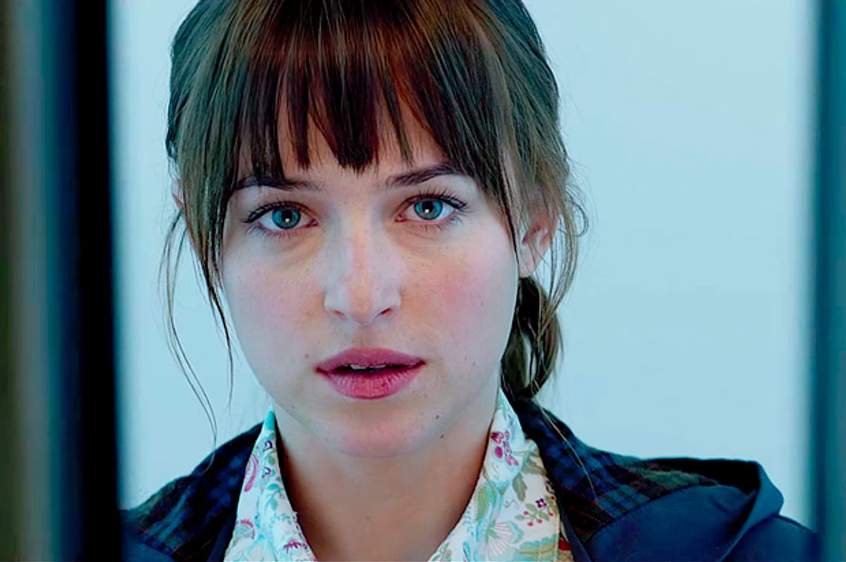 """Dakota Johnson in """"Fifty Shades of Grey""""            (Universal Pictures)"""