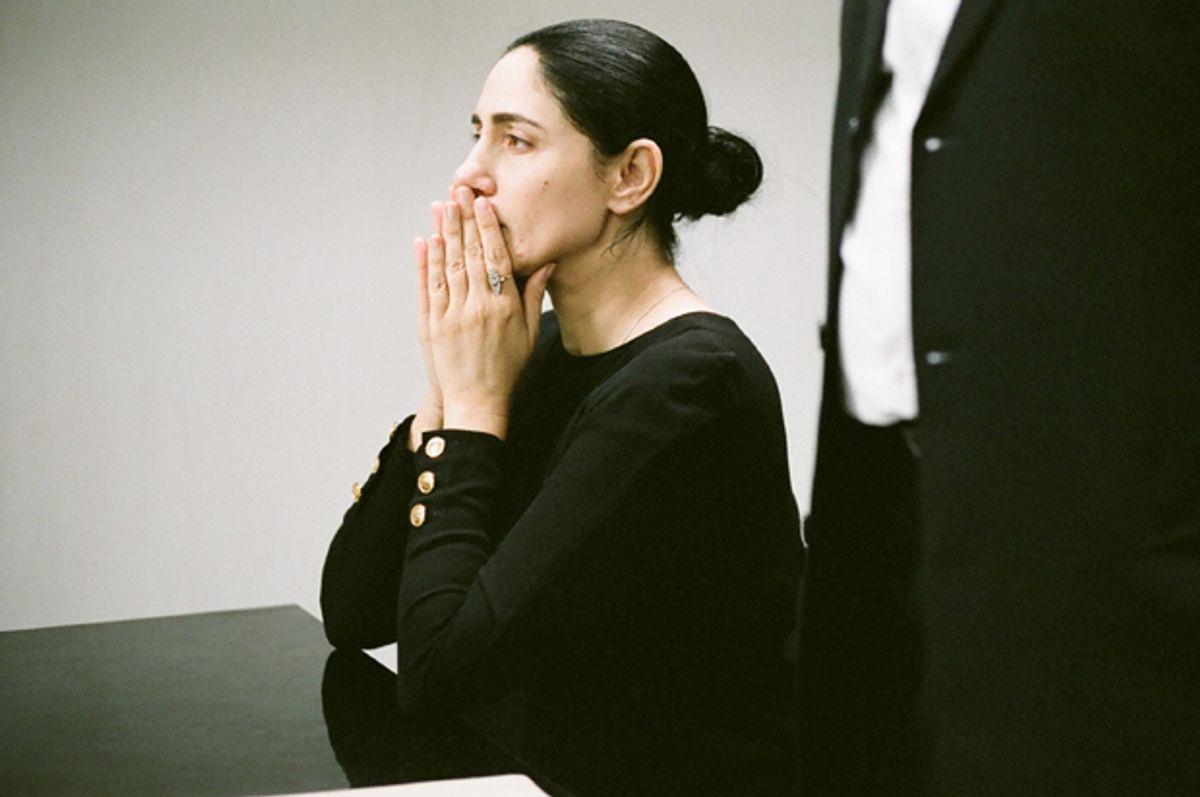 """Ronit Elkabetz in """"Gett: The Trial of Viviane Amsalem""""      (Music Box Films)"""