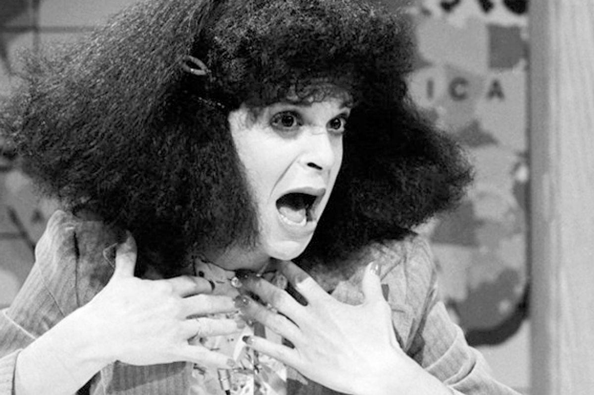 "Gilda Radner as Roseanne Roseannadanna on ""Saturday Night Live""   (NBC/Al Levine)"