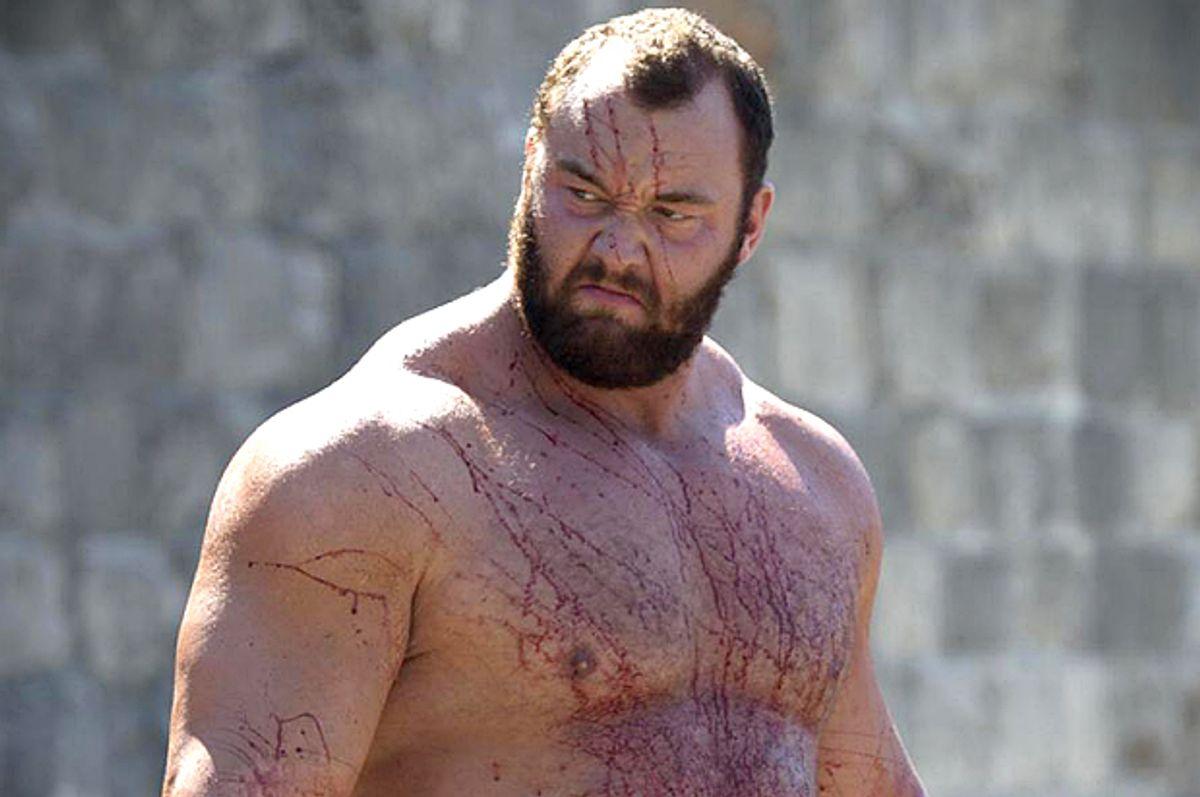 "Gregor Clegane in ""Game of Thrones""         (HBO)"