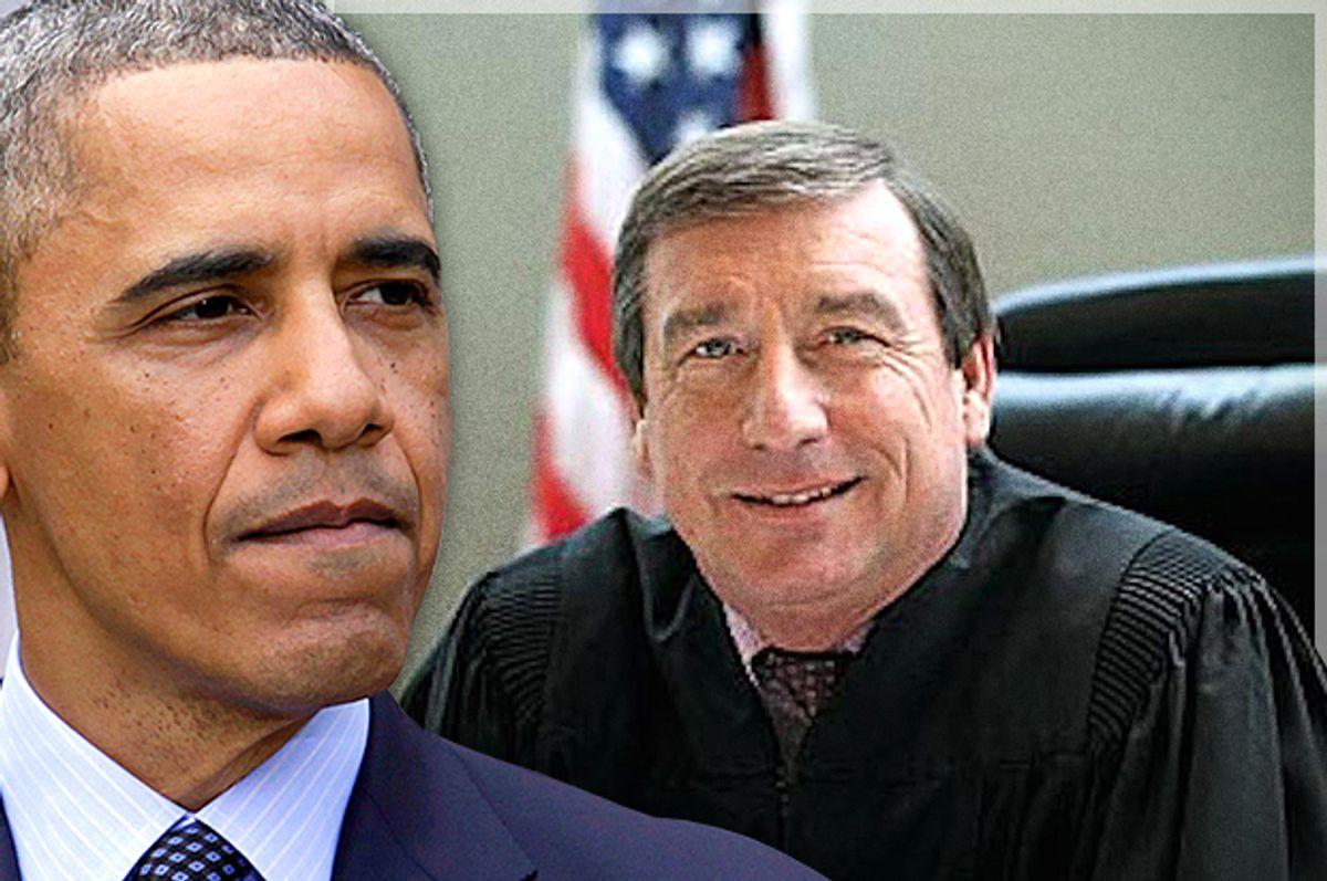 Barack Obama, Judge Andrew S. Hanen         (Reuters/Yuri Gripas/AP/Photo montage by Salon)