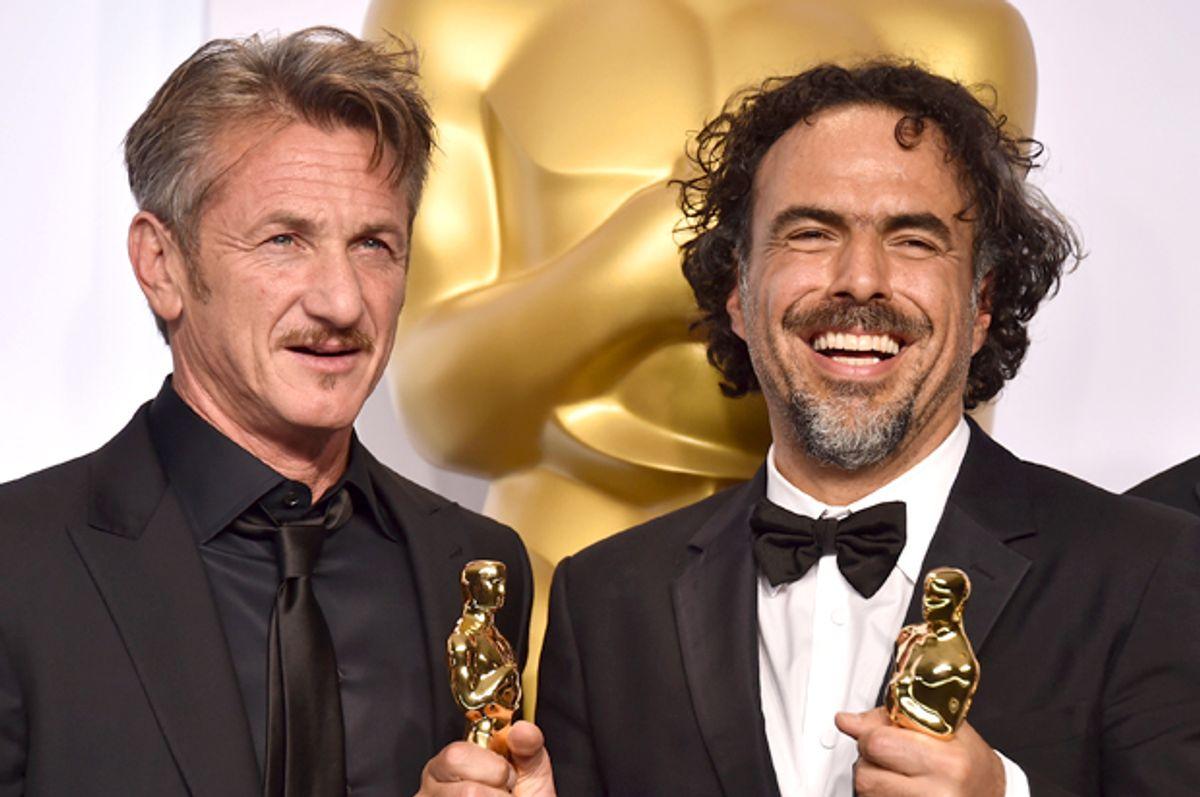 Sean Penn and Alejandro González Iñárritu   (AP/Jordan Strauss)