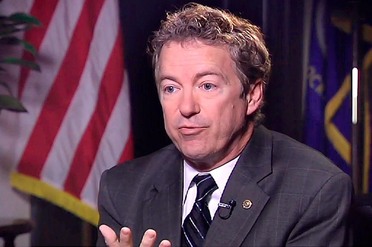 Rand Paul                           (Yahoo News)