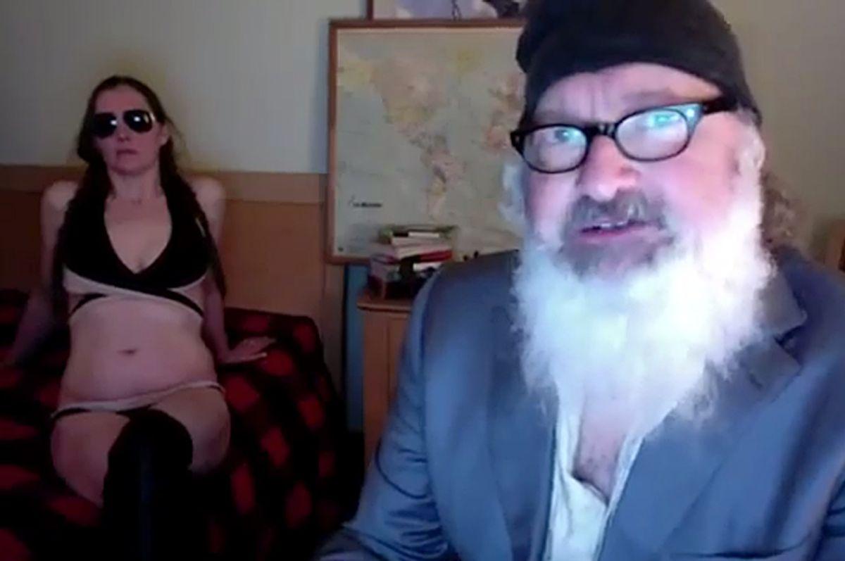 Randy and Evi Quaid     (vidme)