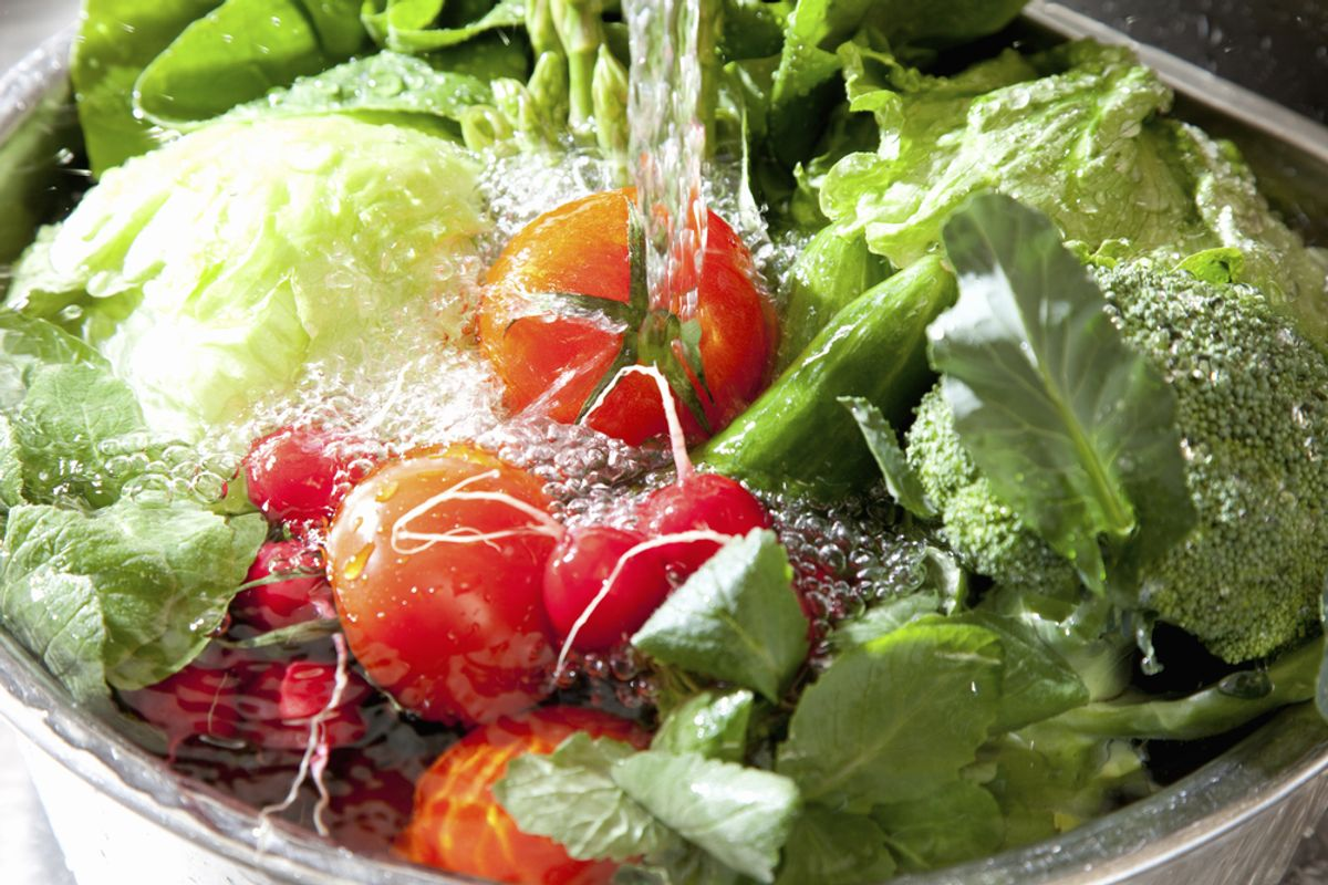 Pathogens in lettuce can't be washed away    (KPG_Payless)