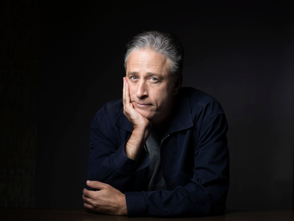 """FILE - In this Nov. 7, 2014 file photo, Jon Stewart poses for a portrait in promotion of his film,""""Rosewater,"""" in New York. Comedy Central announced Tuesday, Feb. 10, 2015, that Stewart will will leave """"The Daily Show"""" later this year. (Photo by Victoria Will/Invision/AP, File) (Victoria Will/invision/ap)"""
