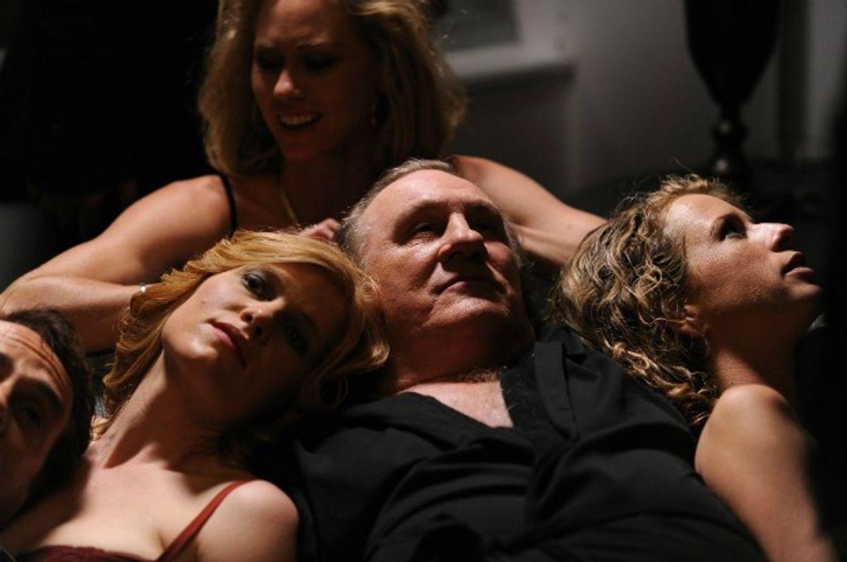 """Gérard Depardieu in """"Welcome to New York.""""  (Nicole Rivelli)"""