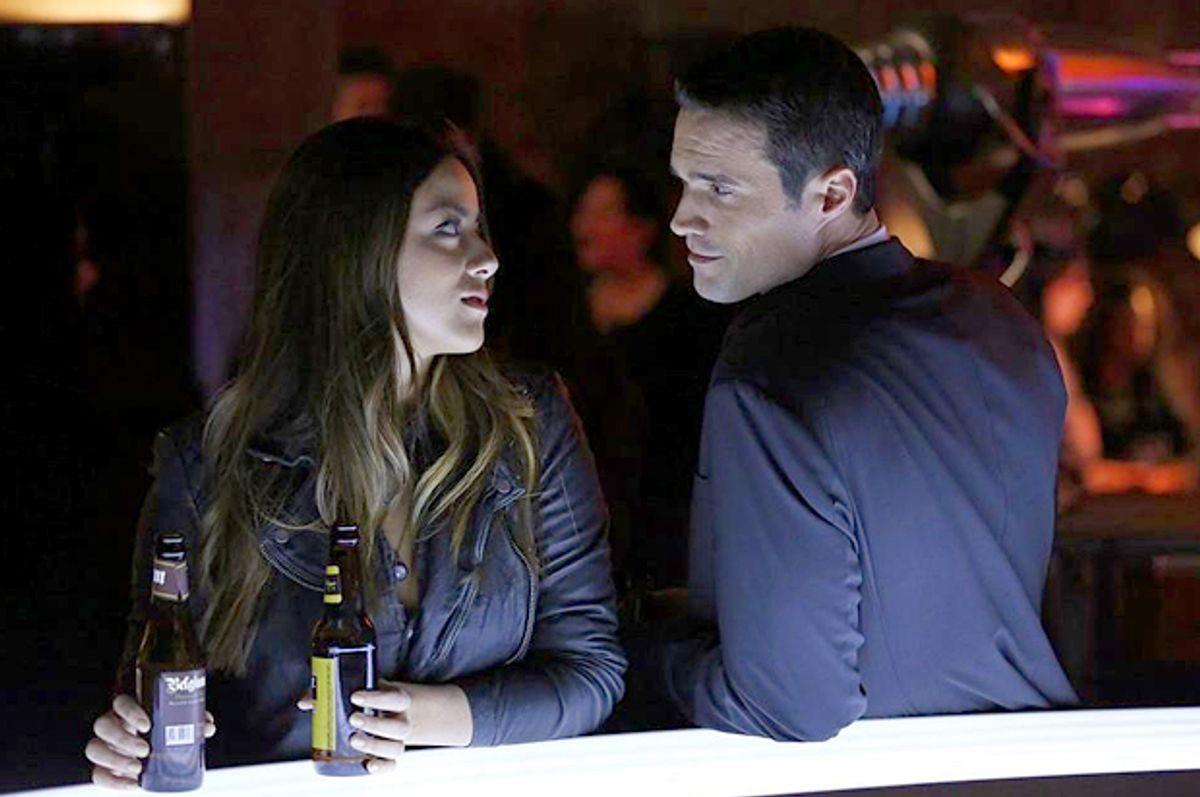 """Chloe Bennet and Brett Dalton in """"Agents of S.H.I.E.L.D.""""     (ABC)"""