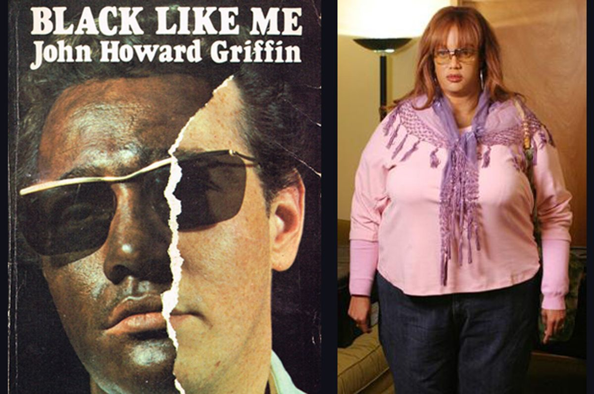"""""""Black Like Me,"""" Tyra Banks in a fat suit.       (Panther/ABC)"""