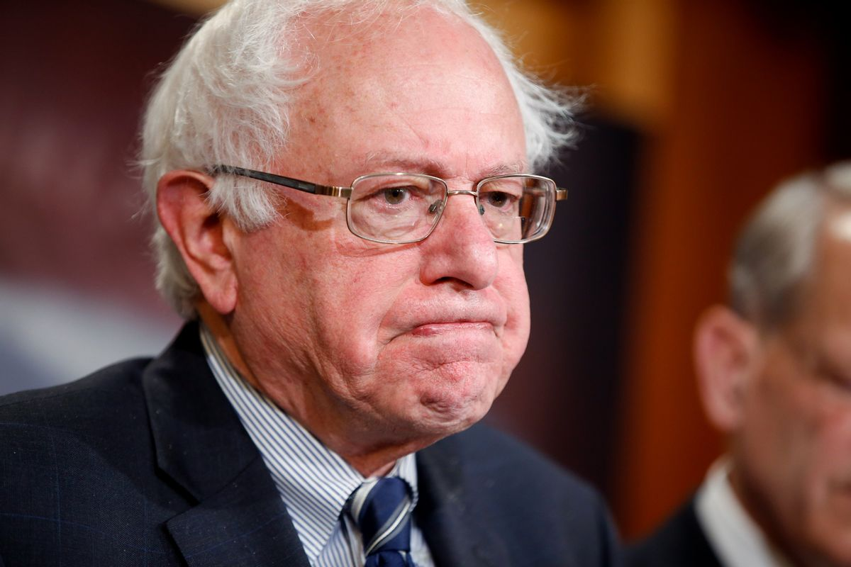 Sen. Bernie Sanders, I-Vt. (AP Photo/Andrew Harnik)