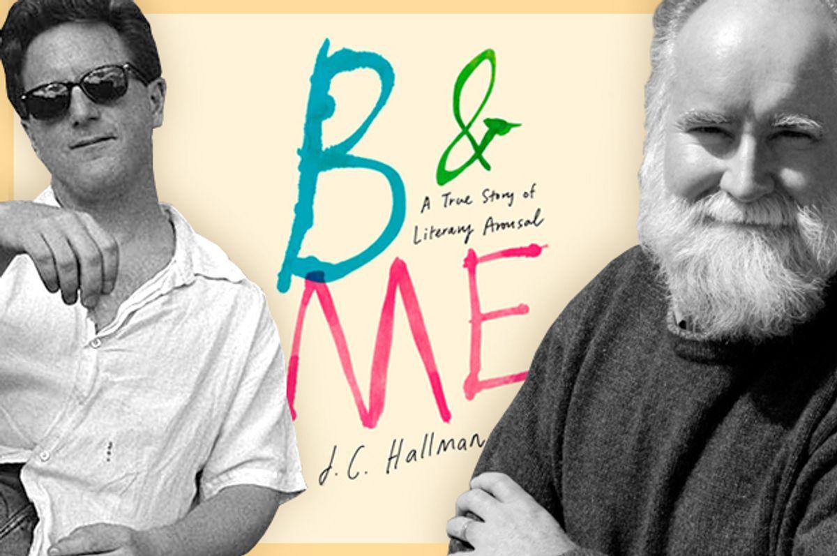 J.C. Hallman, Nicholson Baker       (jchallman.com/Catherine Michele Adams/AP/Pat Wellenbach/Salon)