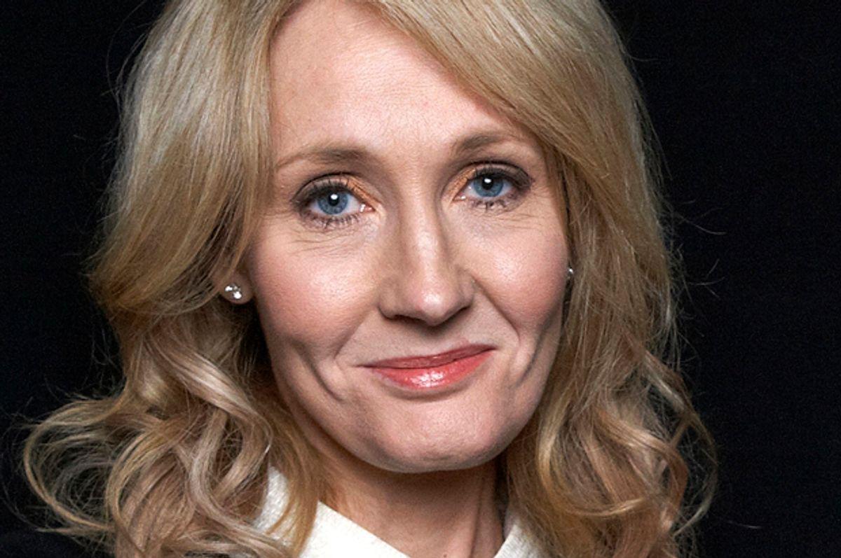 J.K. Rowling        (AP/Dan Hallman)