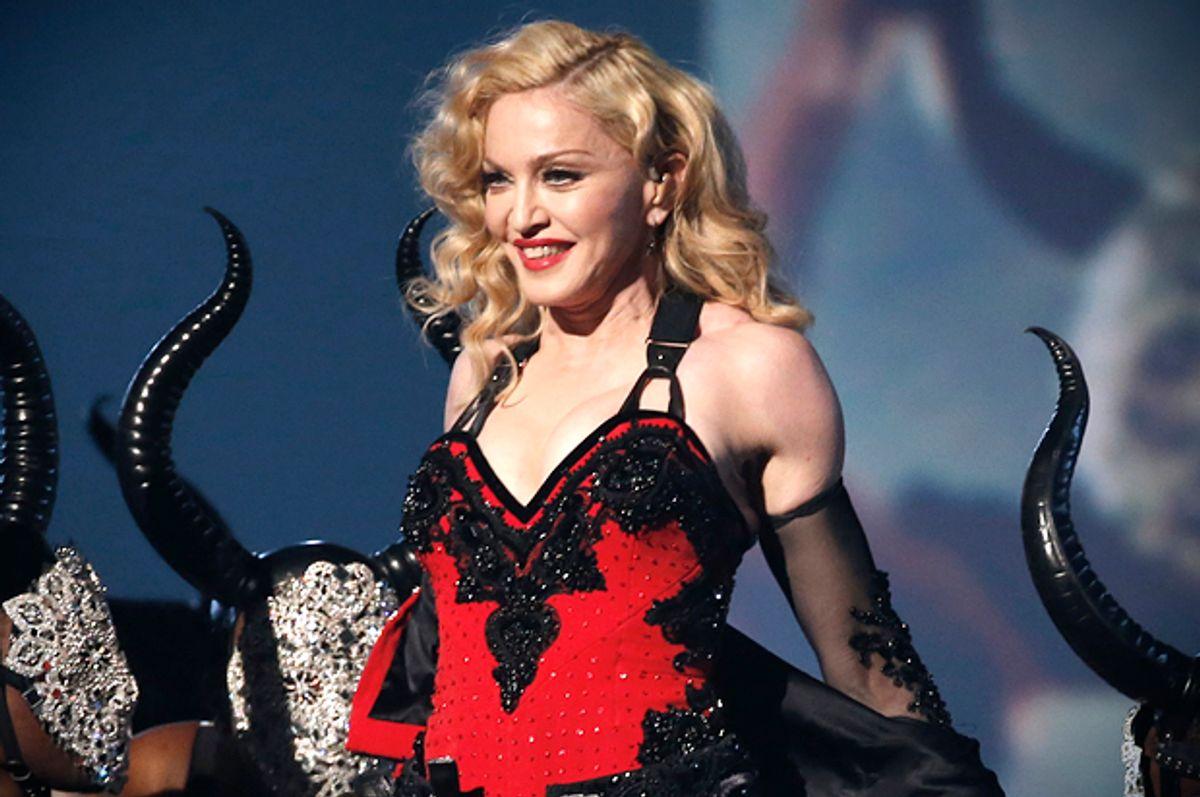 Madonna        (Reuters/Lucy Nicholson)