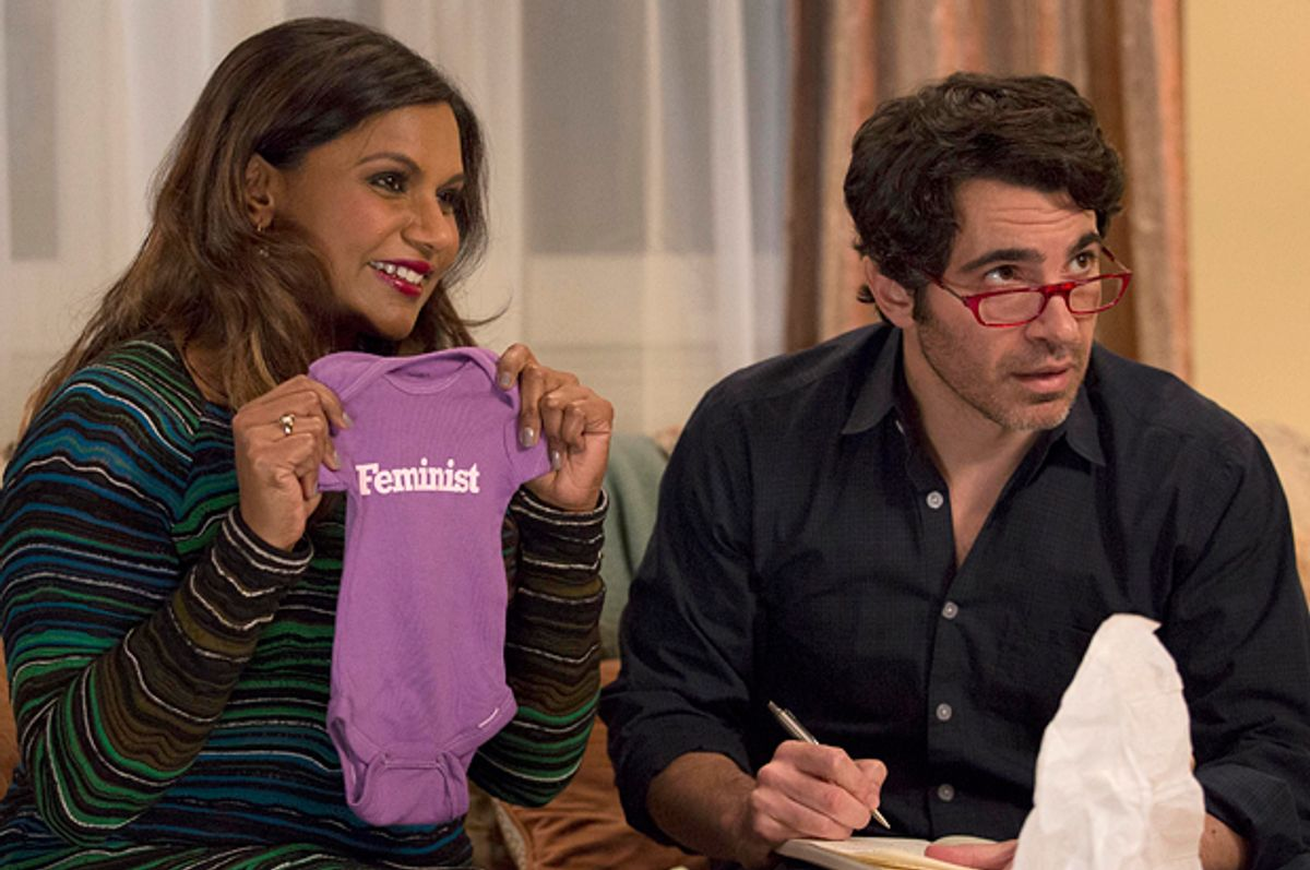 """Mindy Kaling and Chris Messina in """"The Mindy Project""""      (Fox/John P. Fleenor)"""