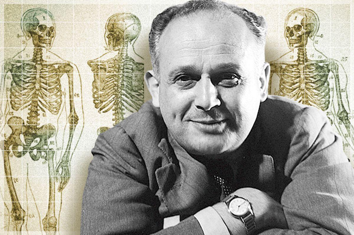 Moshe Feldenkrais     (© International Feldenkrais Federation Archive/Photo montage by Salon)