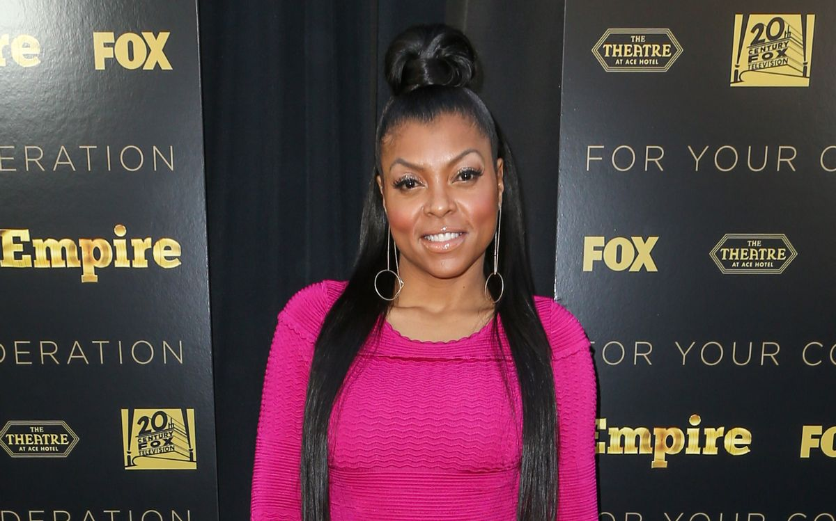 """FILE - In this Thursday, March 12, 2015 file photo, Taraji P. Henson attends the LA Academy Screening of """"Empire"""" at the Theater at the Ace Hotel, in Los Angeles. Henson says her 20-year-old son is transferring to Howard University after being racially profiled by police at the University of Southern California. The """"Empire"""" star made the comments in the latest issue of Uptown magazine, which features her on the cover. (Photo by Paul A. Hebert/Invision/AP, File) (Paul A. Hebert/invision/ap)"""