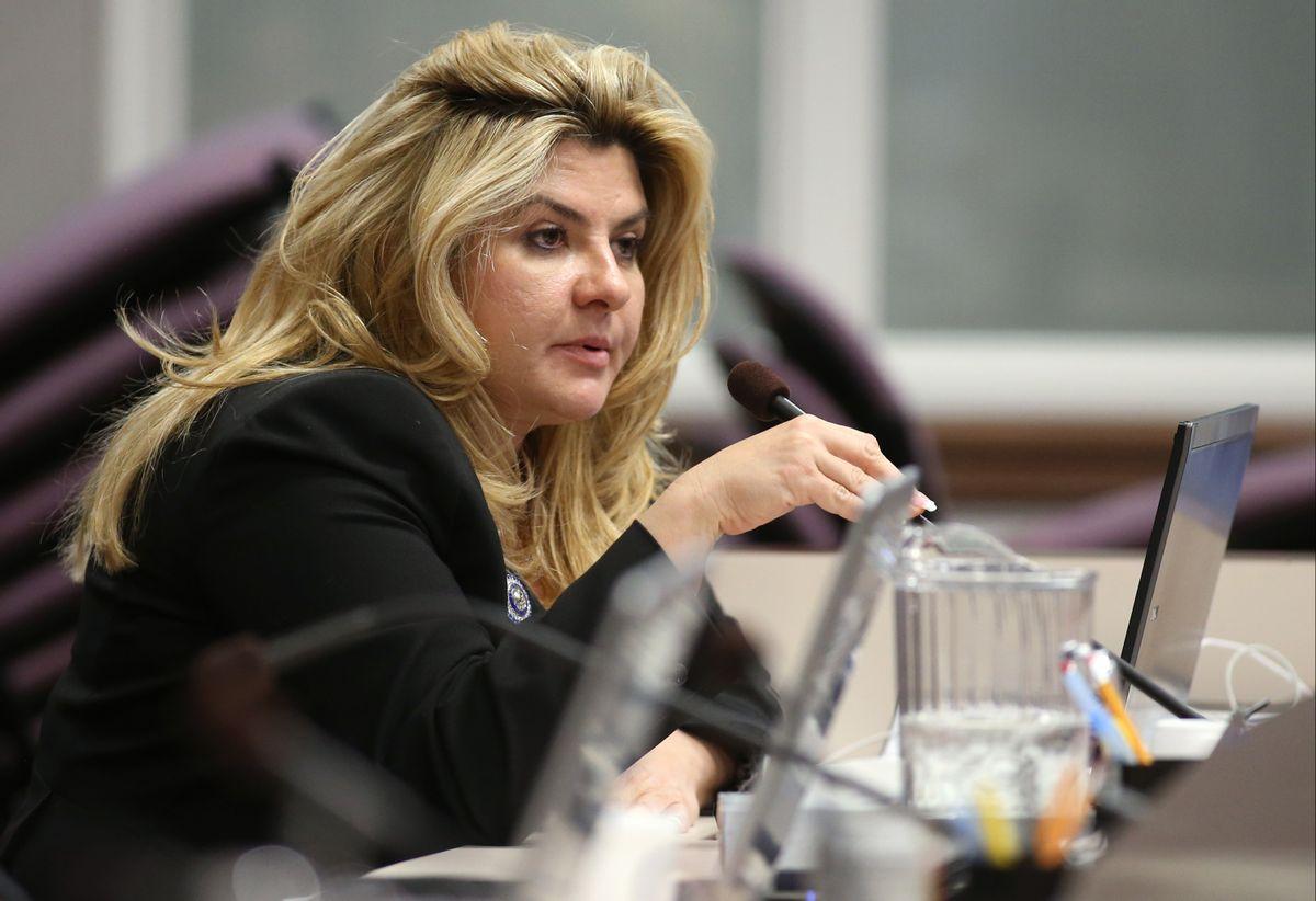 Nevada Assemblywoman Michele Fiore, R-Las Vegas  (AP/Cathleen Allison)