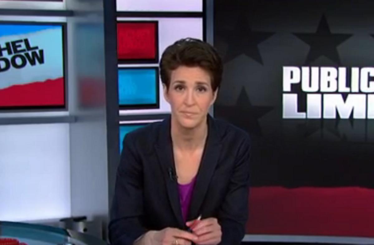 "Rachel Maddow         (MSNBC/""The Rachel Maddow Show"")"