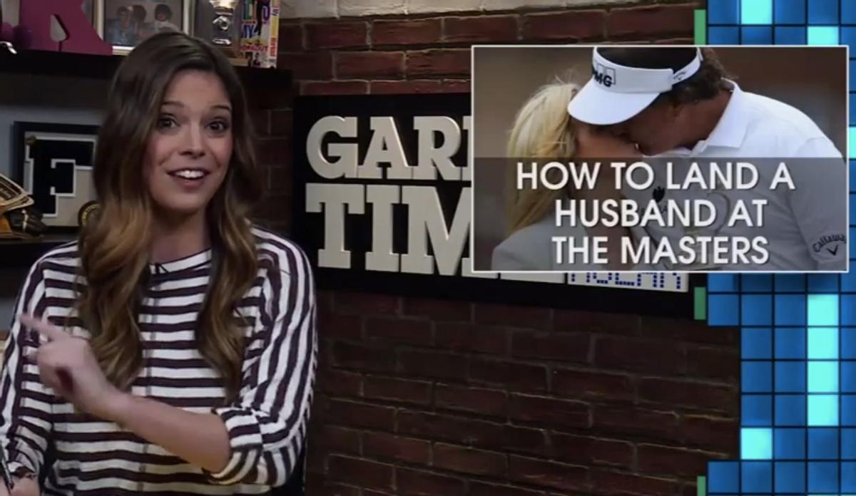 """Katie Nolan on """"Garbage Time""""  (Fox Sports/""""Garbage Time"""")"""