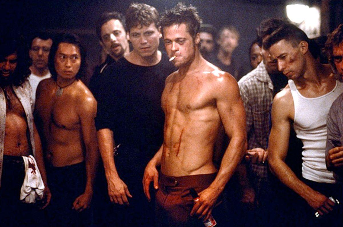 "Brad Pitt in ""Fight Club""    (Twentieth Century Fox)"