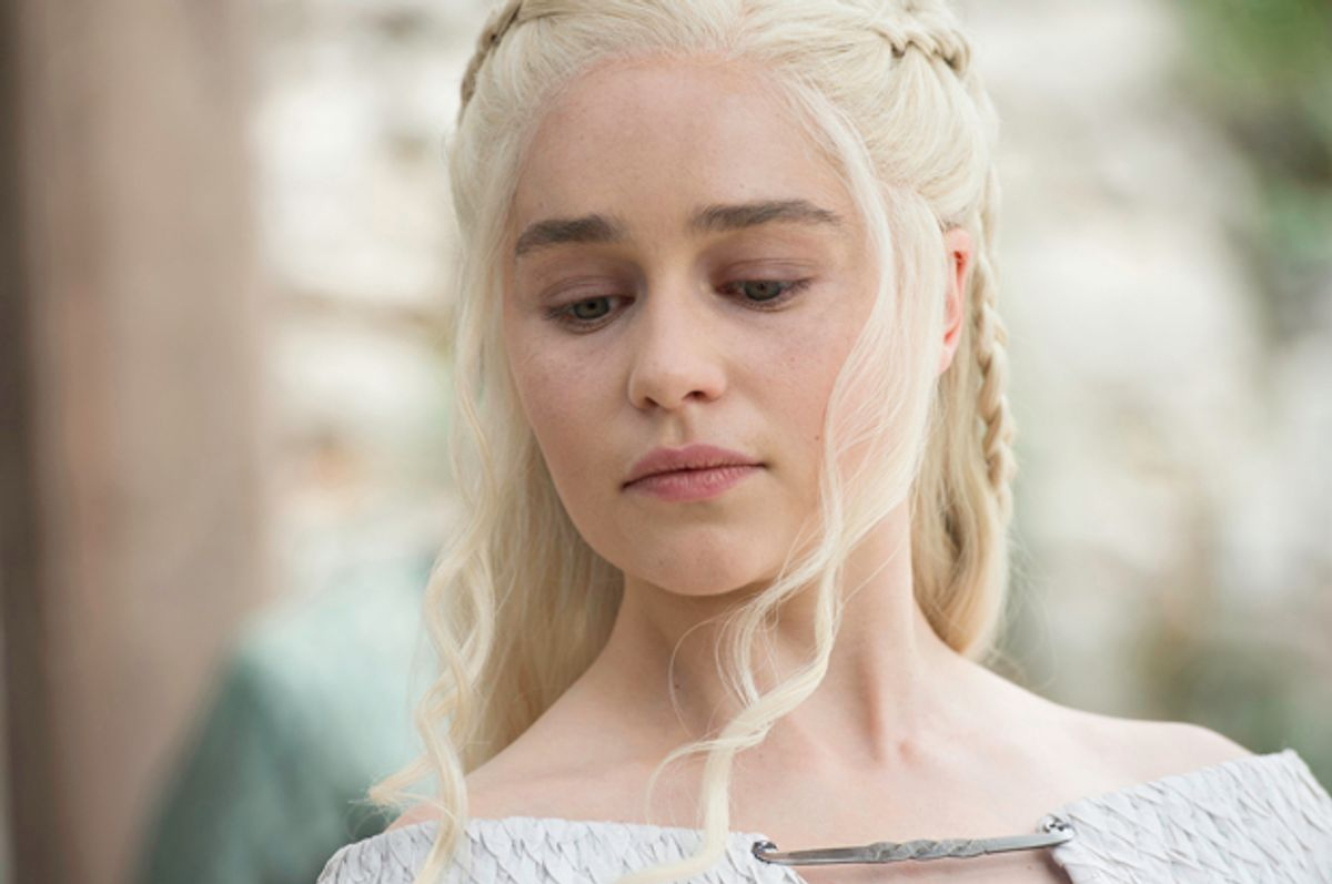 """Emilia Clarke in """"Game of Thrones""""       (HBO/Macall B. Polay)"""