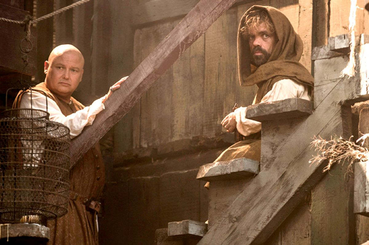 """Conleth Hill and Peter Dinklage in """"Game of Thrones""""        (HBO/Helen Sloan)"""
