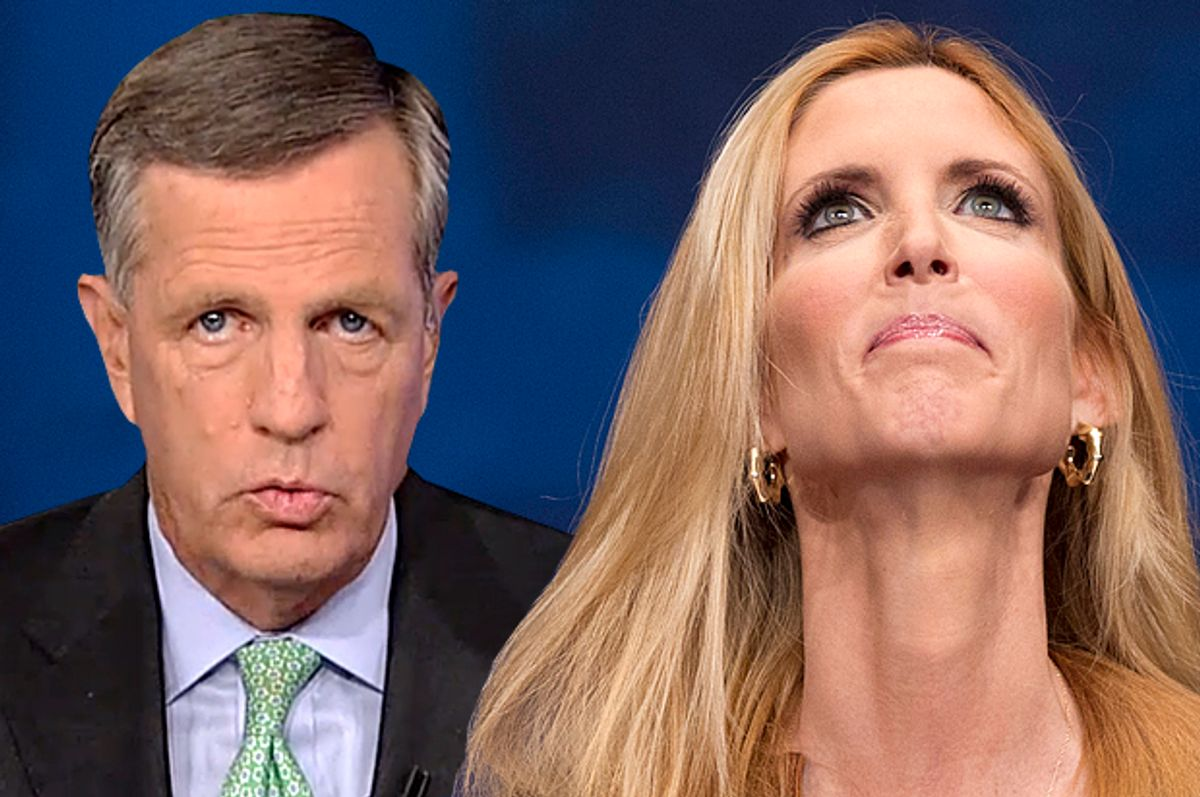 Brit Hume, Ann Coulter            (Fox News/AP/J. Scott Applewhite/Photo montage by Salon)