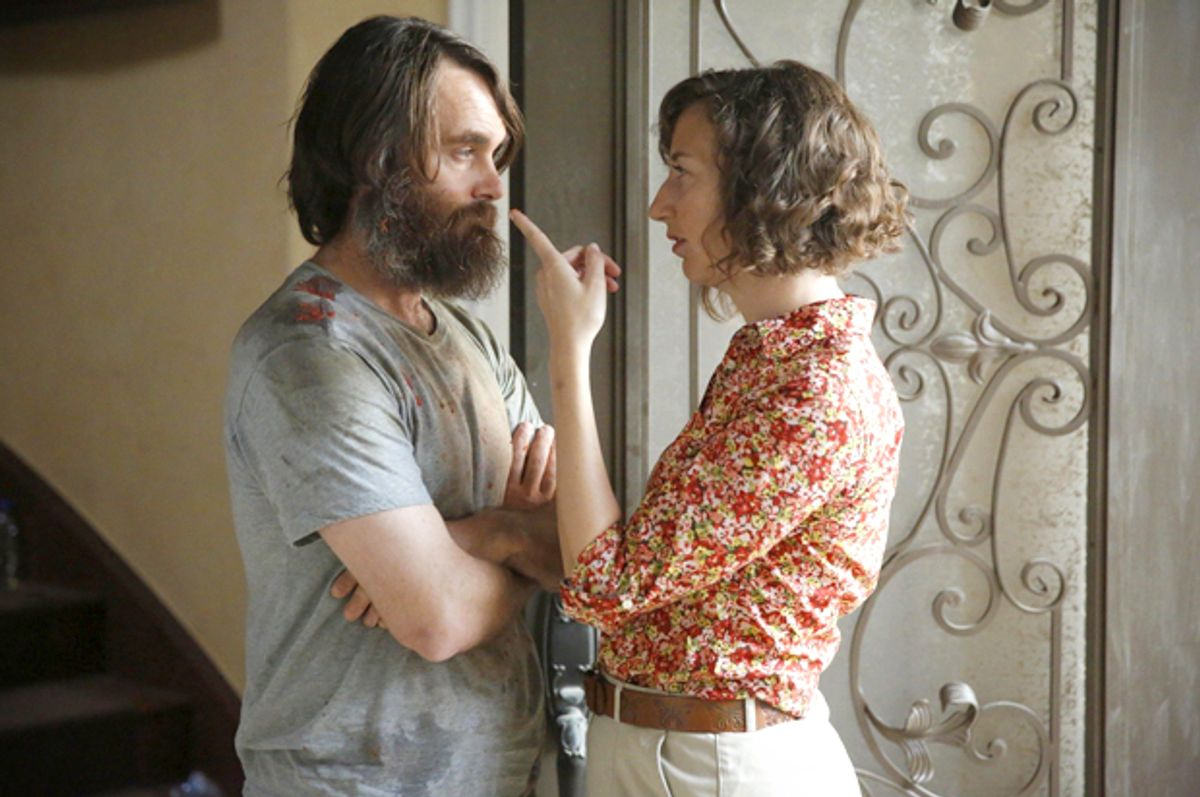 """Will Forte and Kristen Schaal in """"The Last Man on Earth""""          (Fox)"""