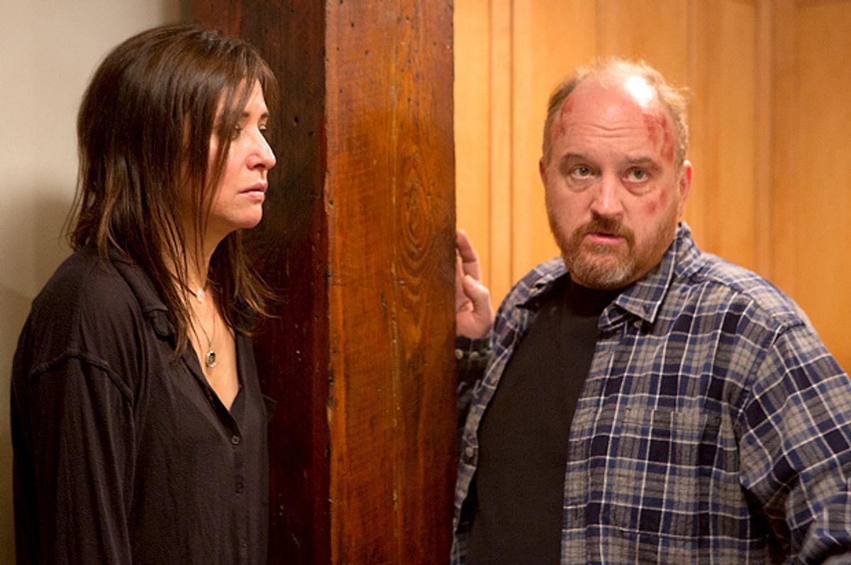 "Pamela Adlon and Louis C.K. in ""Louie""          (FX/KC Bailey)"