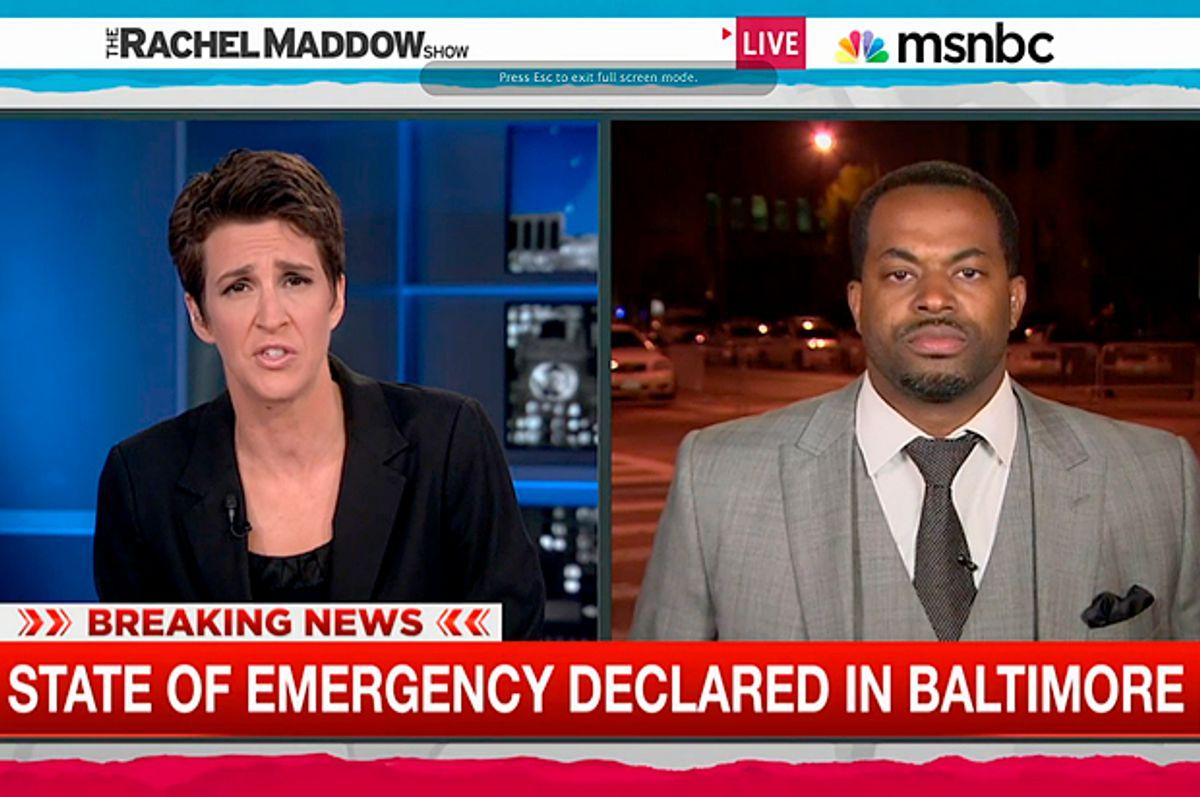 Rachel Maddow, Nick Mosby         (MSNBC)