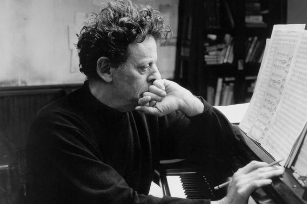 """Cover photograph of """"Words Without Music: A Memoir"""" by Philip Glass       (W.W. Norton)"""