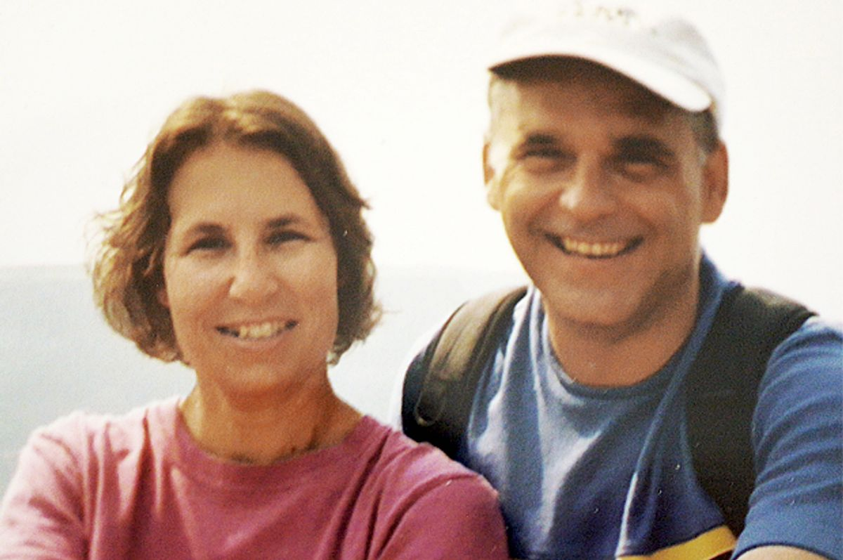 A photo of the author with his wife