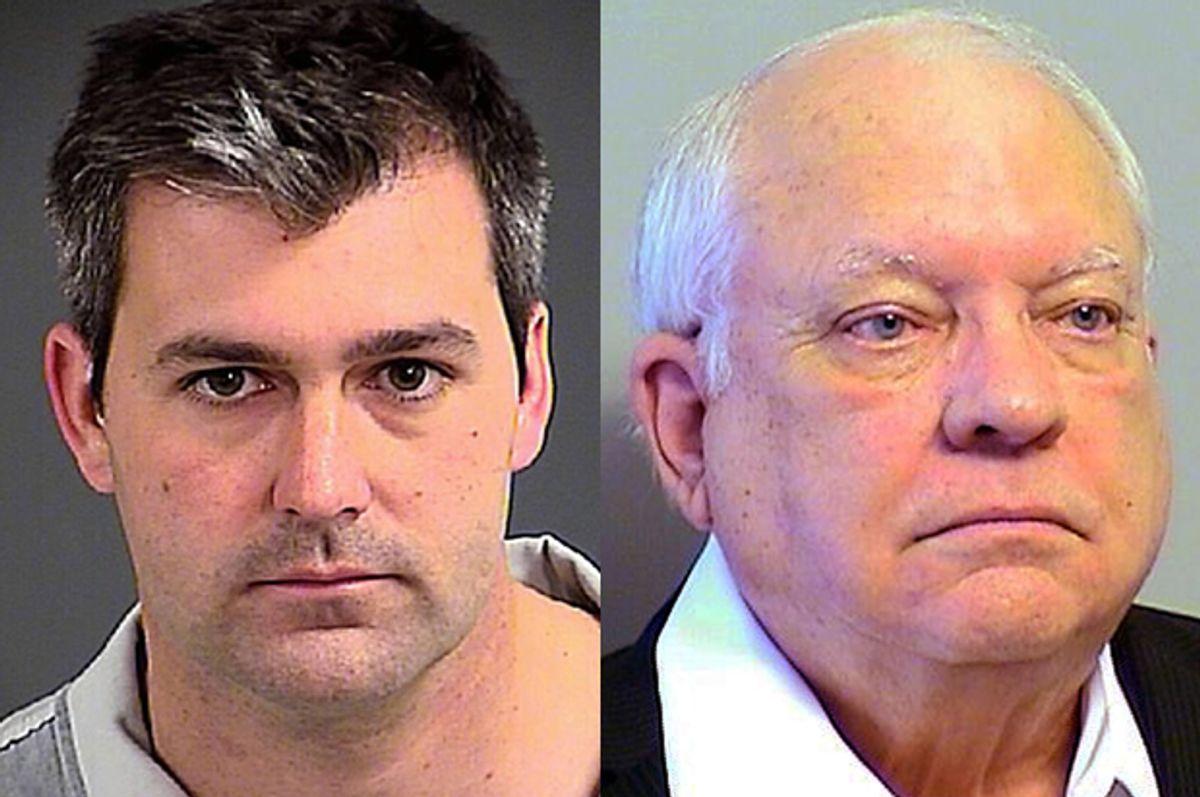 Michael Slager, Robert Bates       (AP/Charleston County Sheriff's Office/Tulsa County Sheriff's Office)