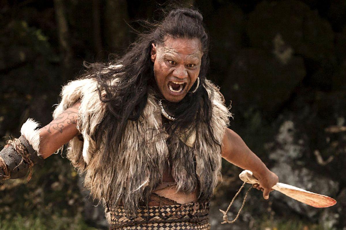 "Lawrence Makoare in ""The Dead Lands""       (Transmission Films)"