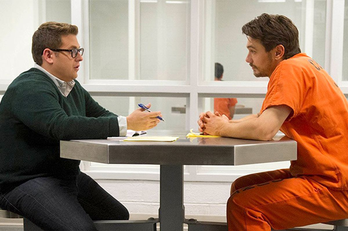 """Jonah Hill and James Franco in """"True Story""""      (Fox Searchlight)"""