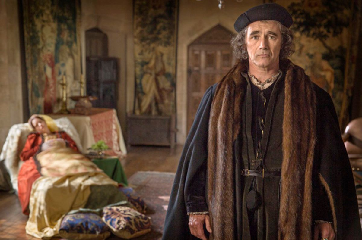"""Mark Rylance in """"Wolf Hall""""    (Playground & Company Pictures)"""