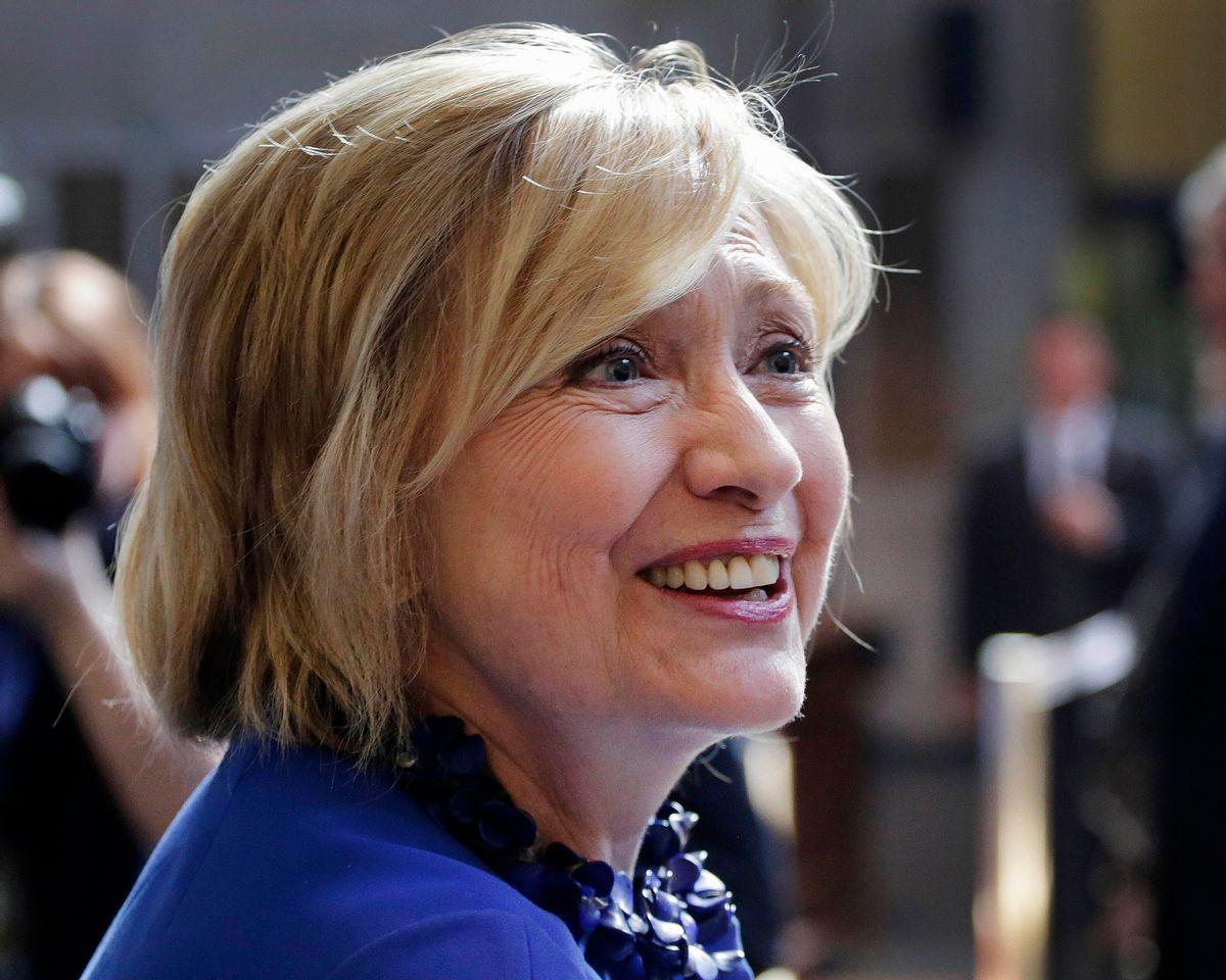Hillary Rodham Clinton  (AP/Mark Lennihan)