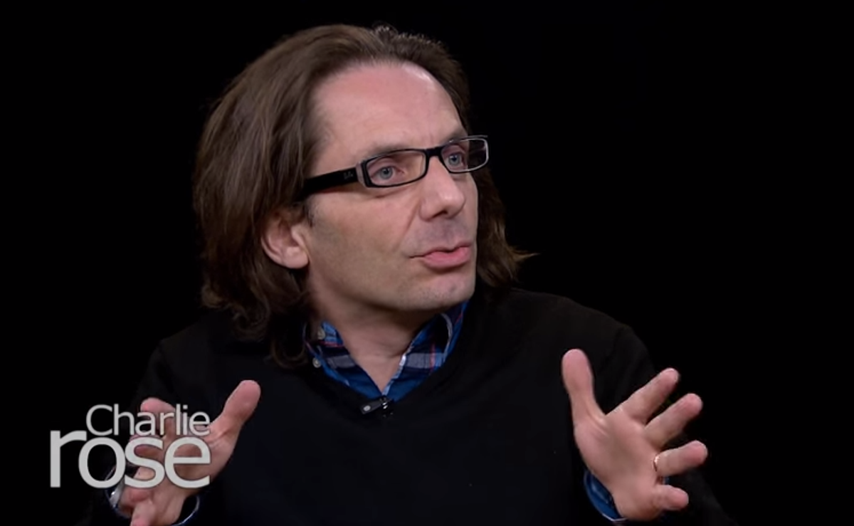 Jean-Baptiste Thoret, a cartoonist at Charlie Hebdo      (PBS)