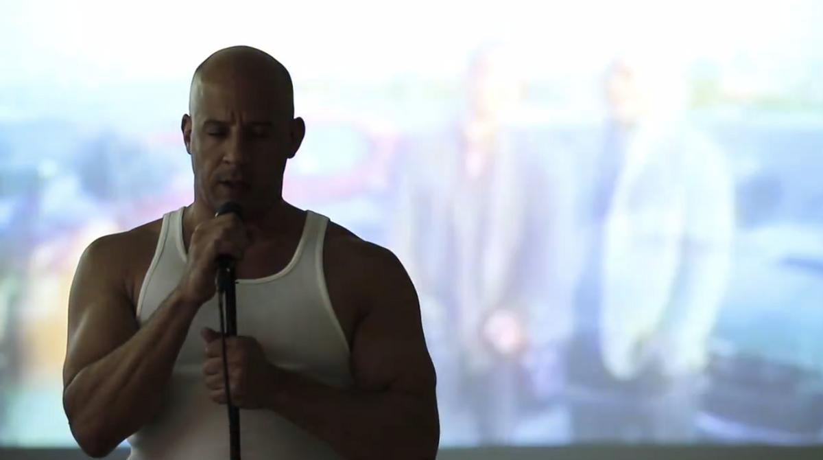 (Vin Diesel Official Facebook)