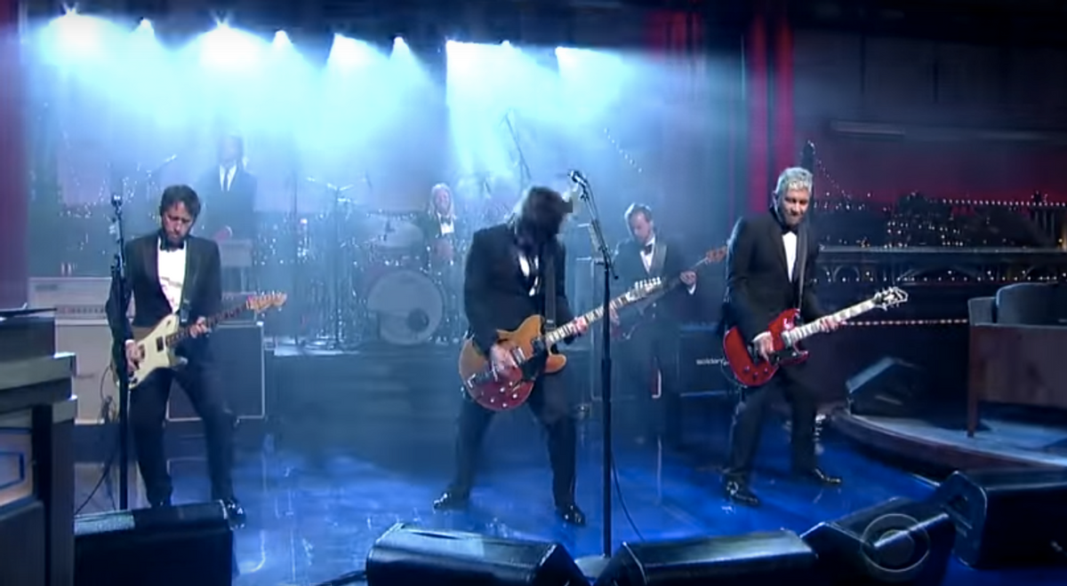 (The Late Show with David Letterman)