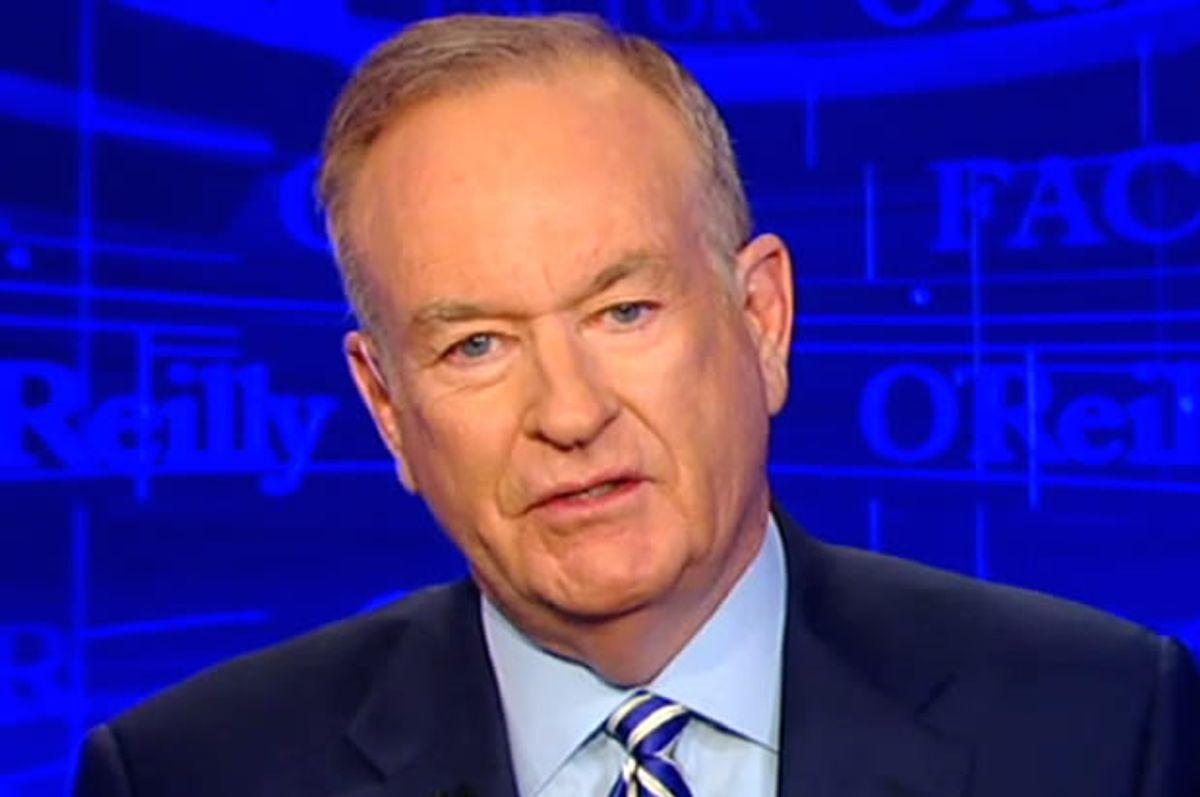 "Bill O'Reilly (<a href=""http://www.foxnews.com/on-air/oreilly/index.html"" target=""_blank"">Fox News</a>)"