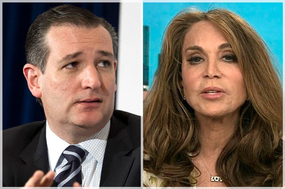 Ted Cruz, Pam Geller                   (AP/Cliff Owen/CNN)
