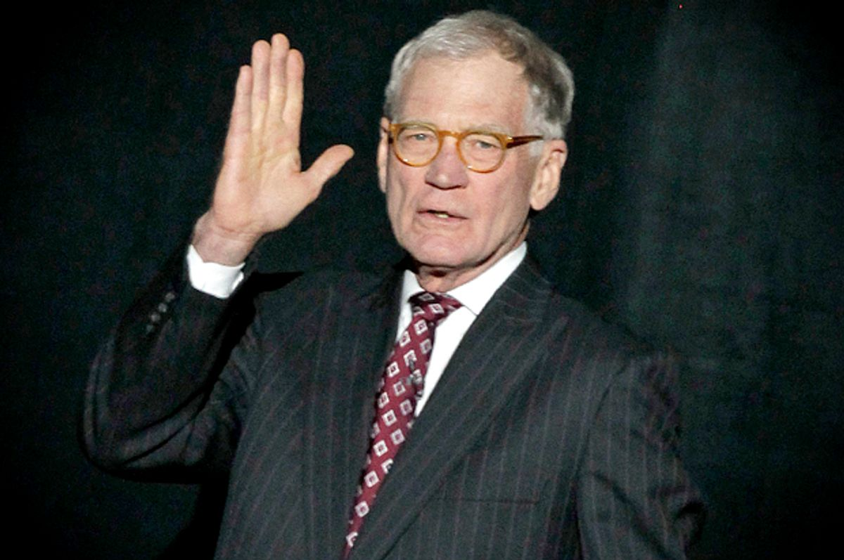 David Letterman            (AP/Michael Conroy)